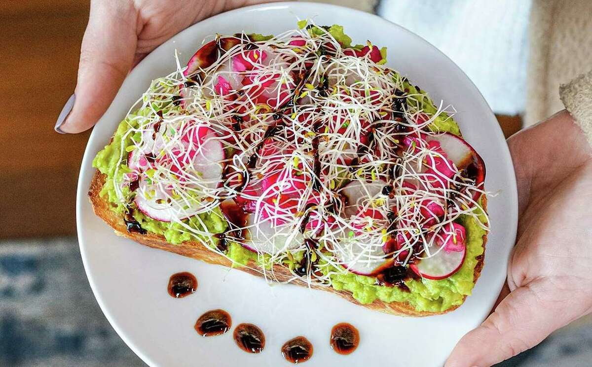 Colorful avocado toast is on the menu at Birdhouse Coffee in South Windsor.