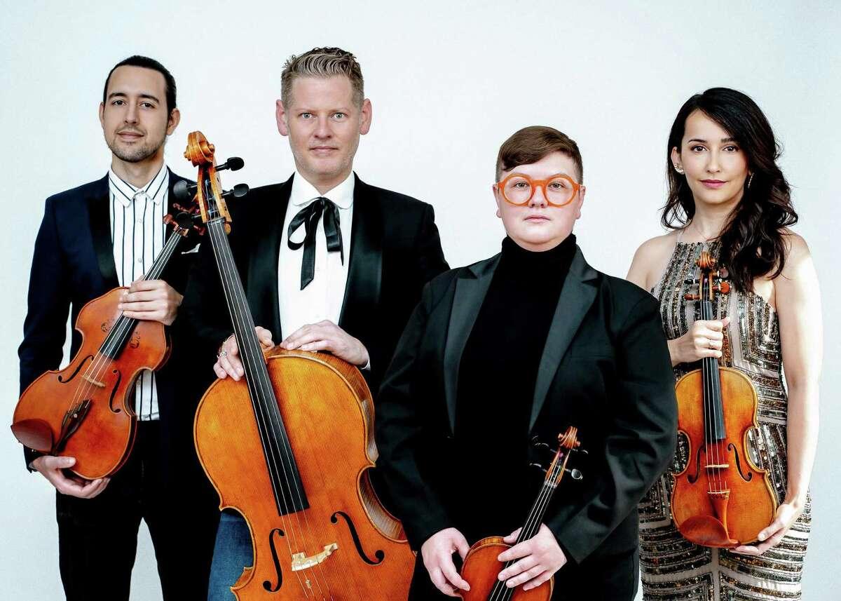 Catalyst String Quartet will perform during MOCA Westport's summer concert series.