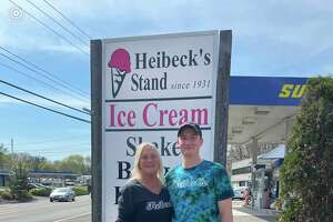 "Barbara ""Bobbie"" Heibeck and son Skylar Smith are co-owners of Heibeck's on Danbury Road in Wilton, after purchasing the business back into the family just under a decade ago."