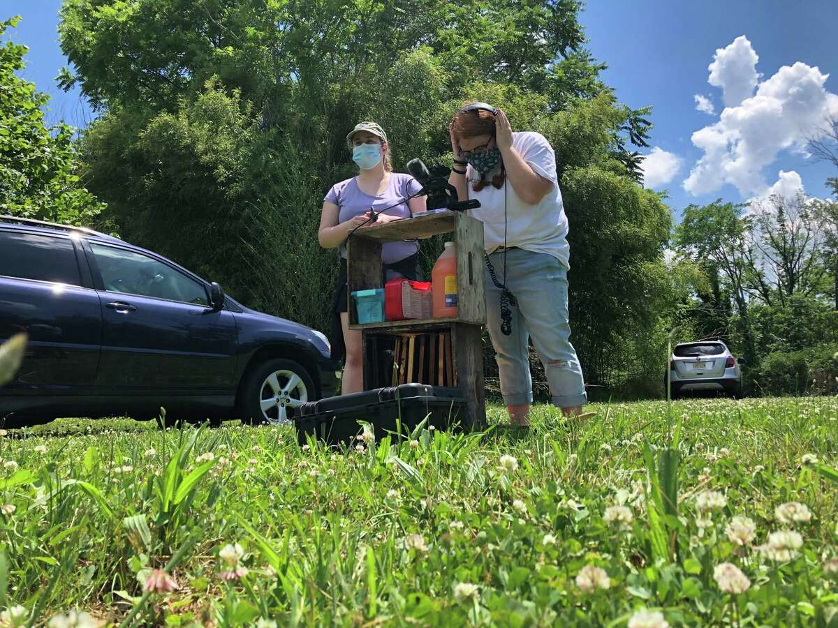 """Students from Pace University created a documentary, """"Bee Aware"""" during the pandemic looking at beekeepers in the North East, including those in Connecticut. It premieres online on Earth Day."""