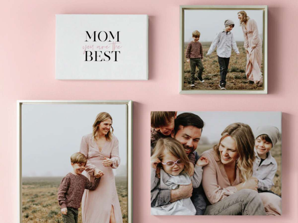 Save up to 50% on gifts for Mother's Day, Shutterfly