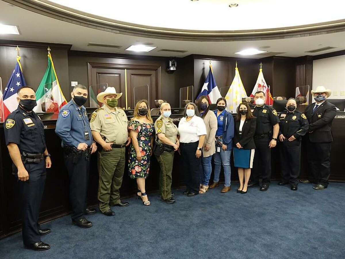 A proclamation for National Telecommunicators Week took place in Laredo on April 15. City of Laredo 911 Regional Administration along with city leadership, department heads, and others gathered to do the proclamation.