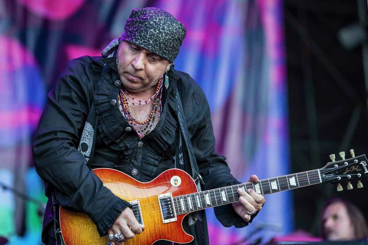 Steven Van Zandt of Little Steven & The Disciples of Soul performs on stage during day 2 of Festival Cruilla on July 8, 2017 in Barcelona, Spain.