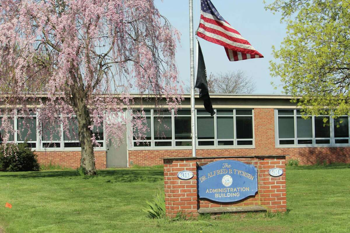 The Middletown school district's central office at 311 Hunting Hill Road