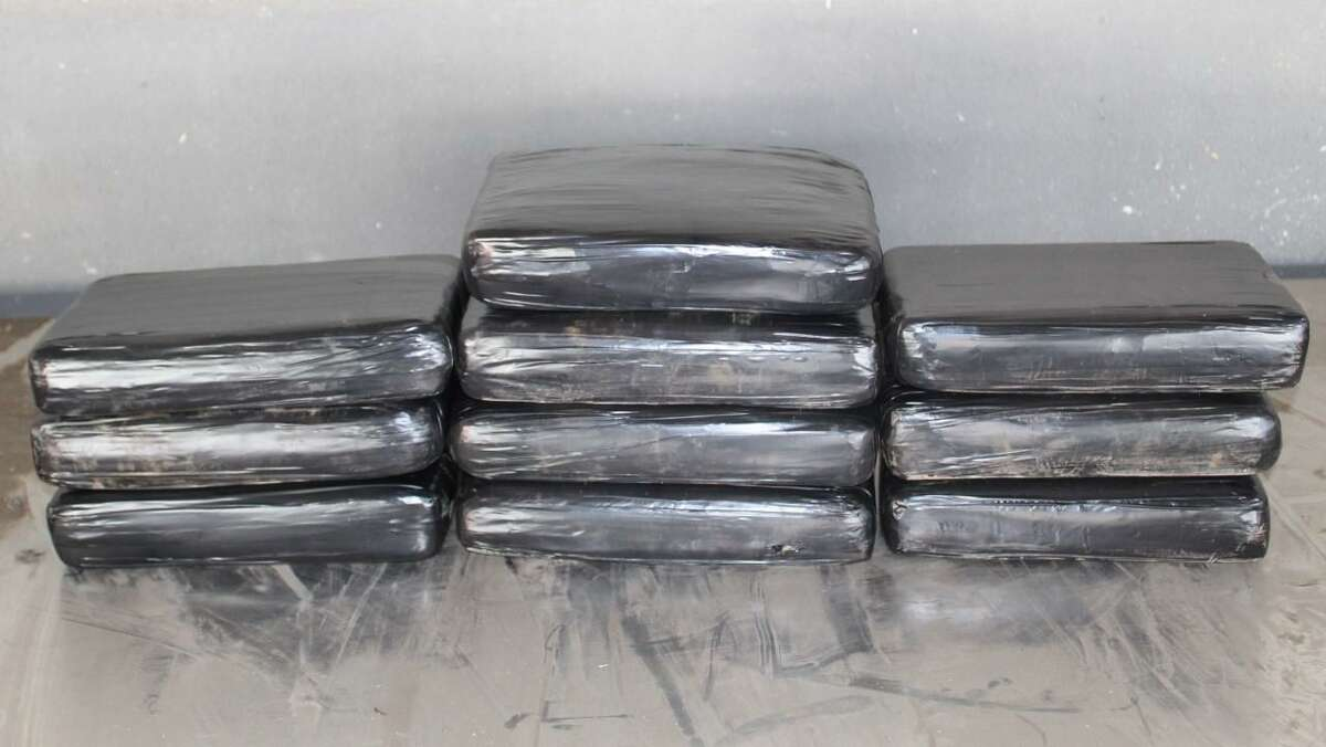 U.S. Customs and Border Protection officers said they found 27 pounds of cocaine in a truck driver's belongings during an inspection on April 16 at the Colombia-Solidarity International Bridge.