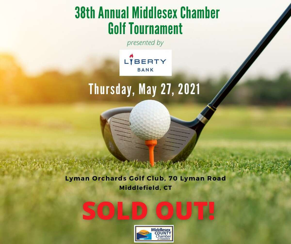 The Middlesex County Chamber of Commerce annual golf tournament was held May 27 at Lyman Orchards Golf Club in Middlefield.