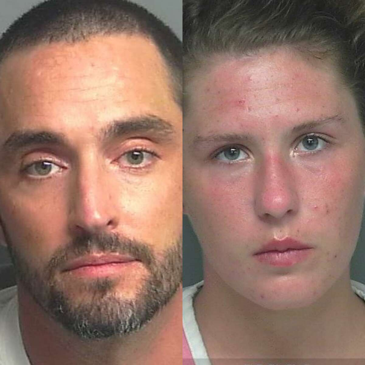 Jason Devon Mastrantonio, 42, of Magnolia, and Chelsea Breanne Phillips, 24, of Spring, are being charged with possession with intent to deliver or manufacture a controlled substance, a first-degree felony.