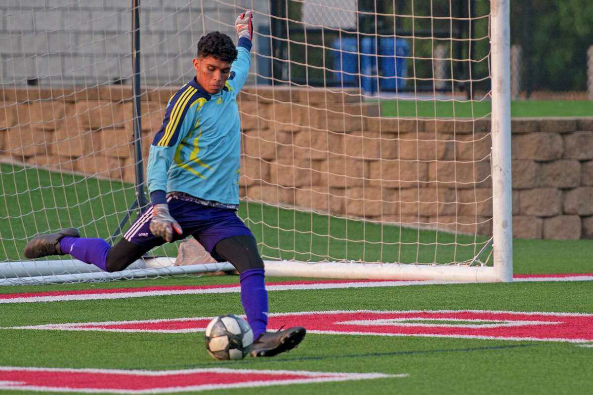Jersey Village High School senior Nathan Fernandez was voted the District 17-6A Goalkeeper of the Year.