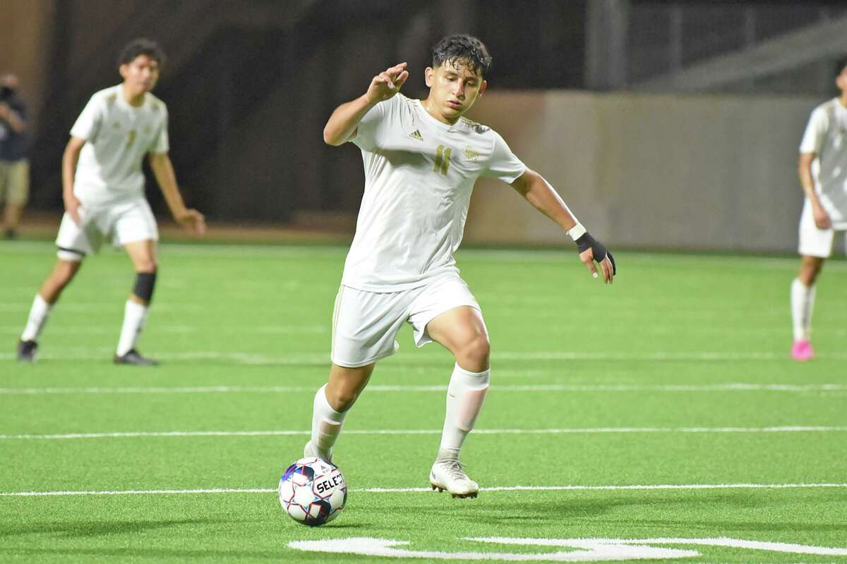 Jersey Village High School junior Jose Bejarano was voted District 17-6A's Defensive Most Valuable Player.