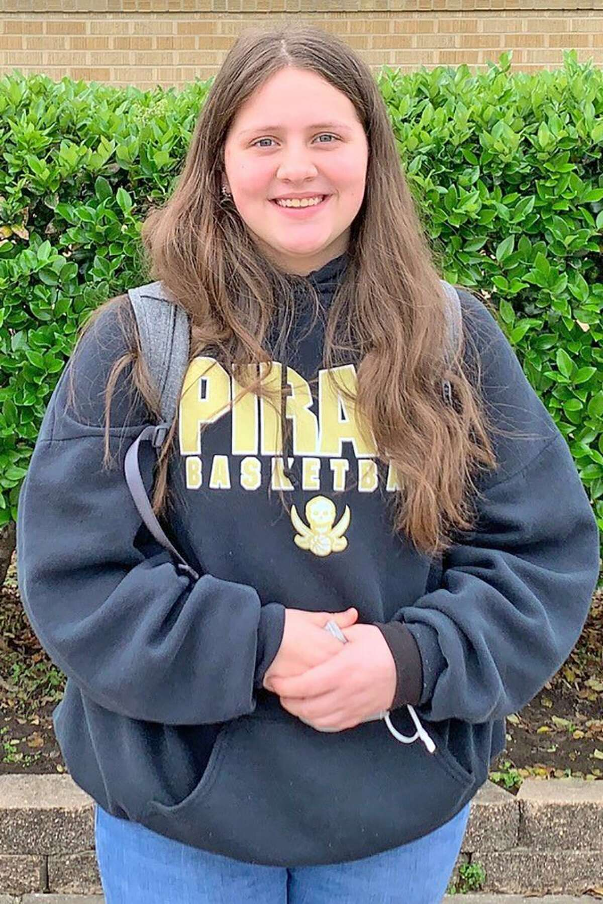 Kaileigh Courts, a student at Vidor High School, will advance to state-level competition after winning the Southeast Texas Regional Citizen Bee, recently hosted by Lamar State College Port Arthur.