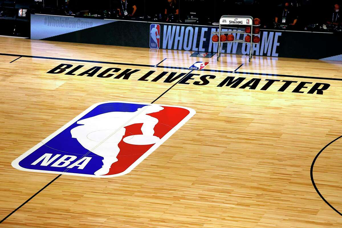 The NBA and its players had been at the forefront of the Black Lives Matter movement after the death of George Floyd.