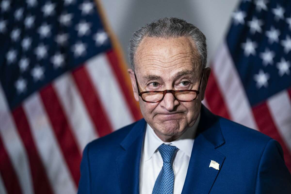 FILE. Letter writer says, 'We must contact Senate Majority Leader Charles Schumer and demand that the filibuster end so our voting rights and our democracy can survive.' (Sarah Silbiger/Getty Images)