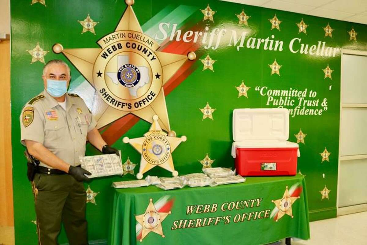 Webb County Sheriff Martin Cuellar said that a routine traffic stop resulted in the seizure of more than $200,000. The seizure occurred after a traffic stop on Monday afternoon on mile marker 29 of South Interstate 35.