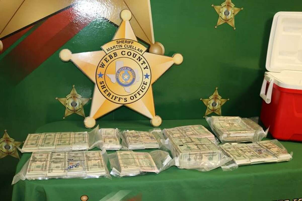 The Webb County Sheriff's Office said that a routine traffic stop resulted in the seizure of more than $200,000. The seizure occurred after a traffic stop on Monday afternoon on mile marker 29 of South Interstate 35.