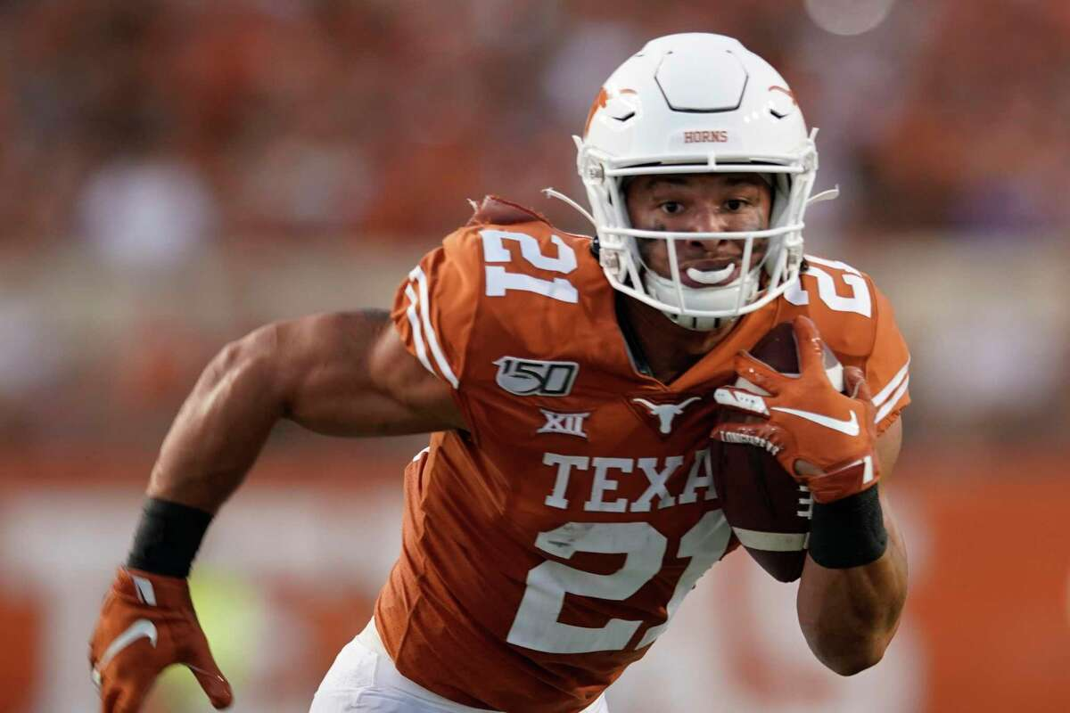 In five games for UT last season, Jordan Whittington had 21 receptions for 206 yards and rushed three times for 50 yards and a touchdown.