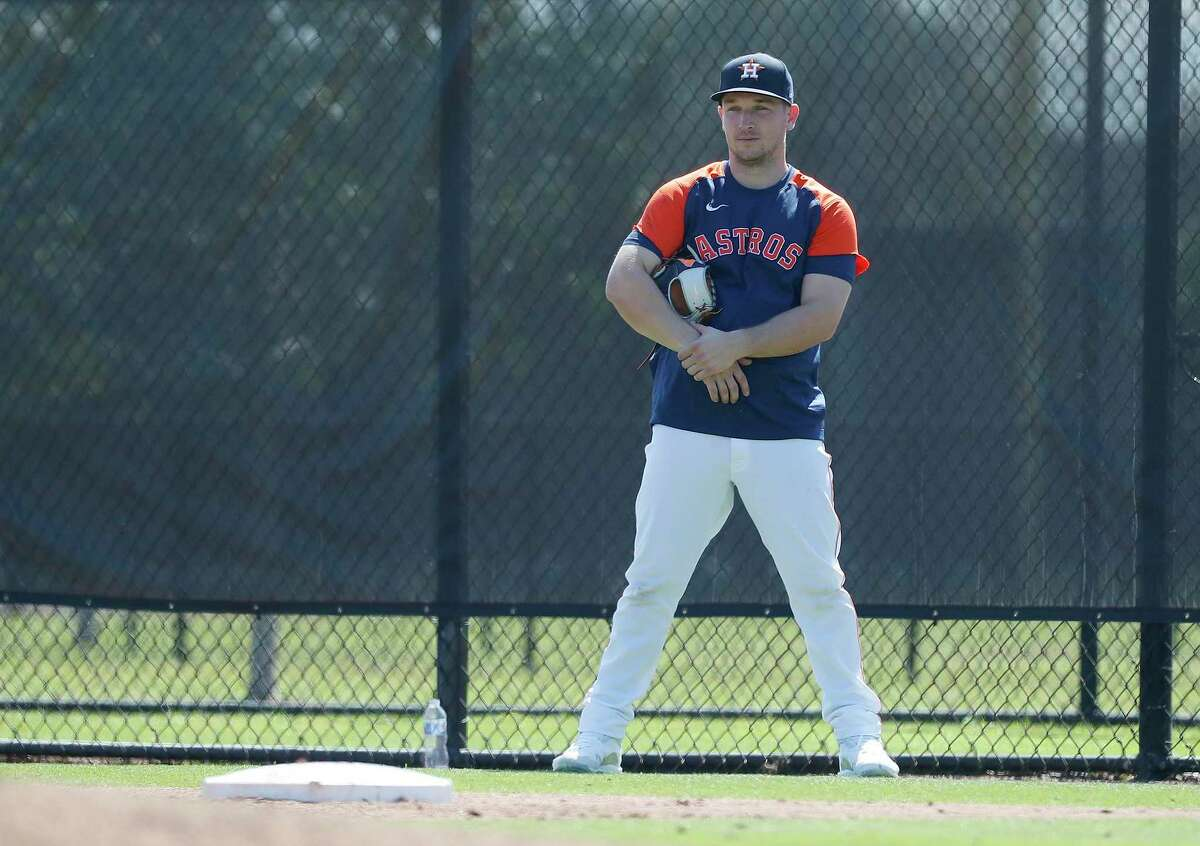 There'll be no more standing around for Alex Bregman, who rejoined the Astros' lineup Tuesday night after being out for six days because of COVID-19 health and safety protocols.