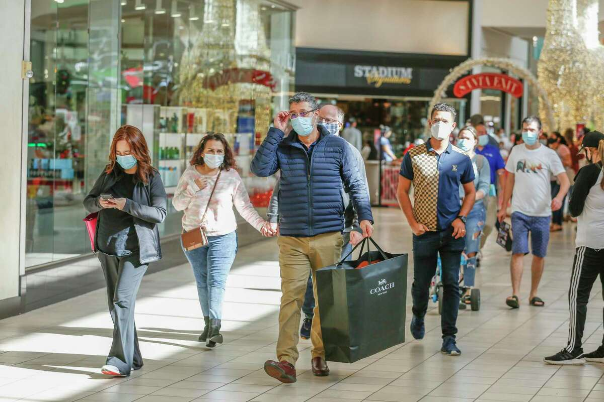 Retail spending in Houston rose 3.7 percent over the year earlier, according to a report released Tuesday.
