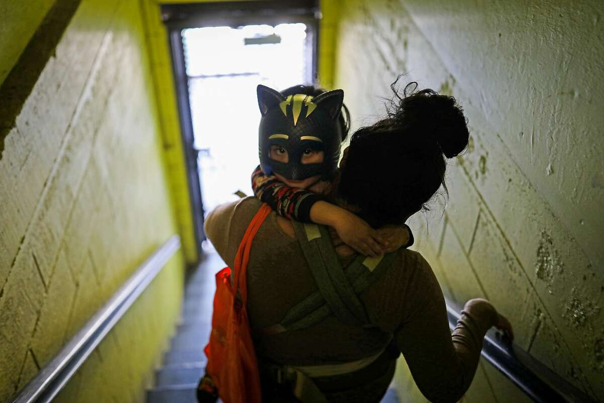 Nava was forced to huddle at home with her son, Fares Arriaga, after contracting COVID-19 in January. with COVID-19 for over two weeks