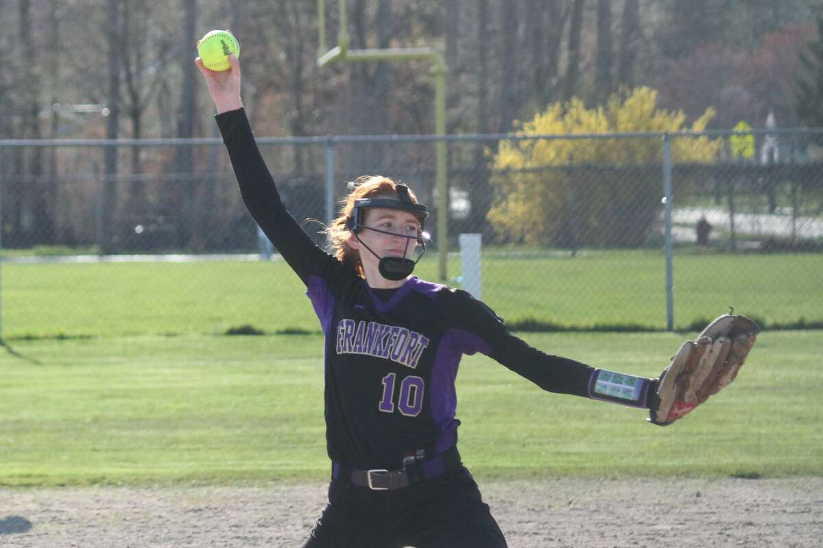 Frankfort hosts Buckley in a Northwest Conference softball doubleheader on April 20.
