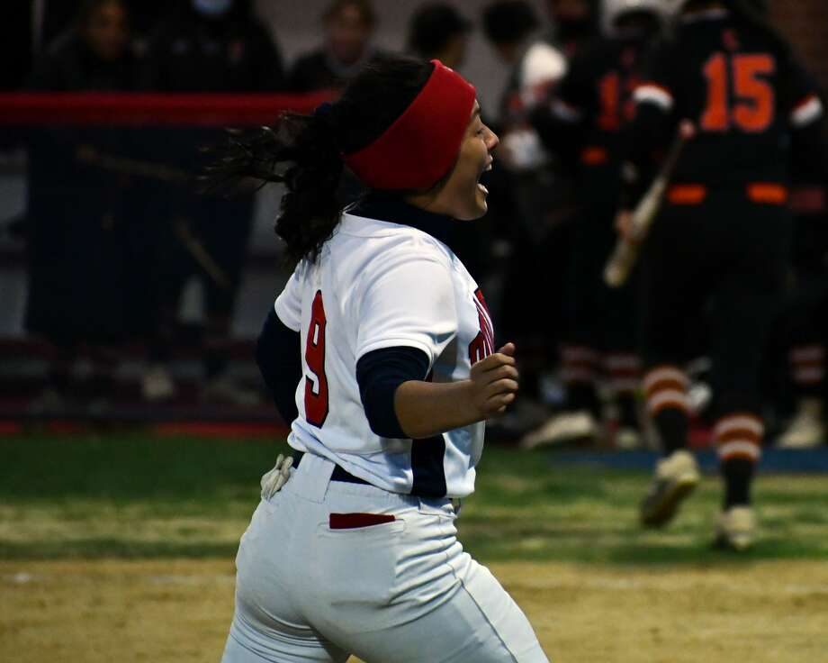 The Plainview softball team defeated Amarillo Caprock 5-1 in a District 3-5A contest on Tuesday at Lady Bulldog Park.  Photo: Nathan Giese/Planview Herald
