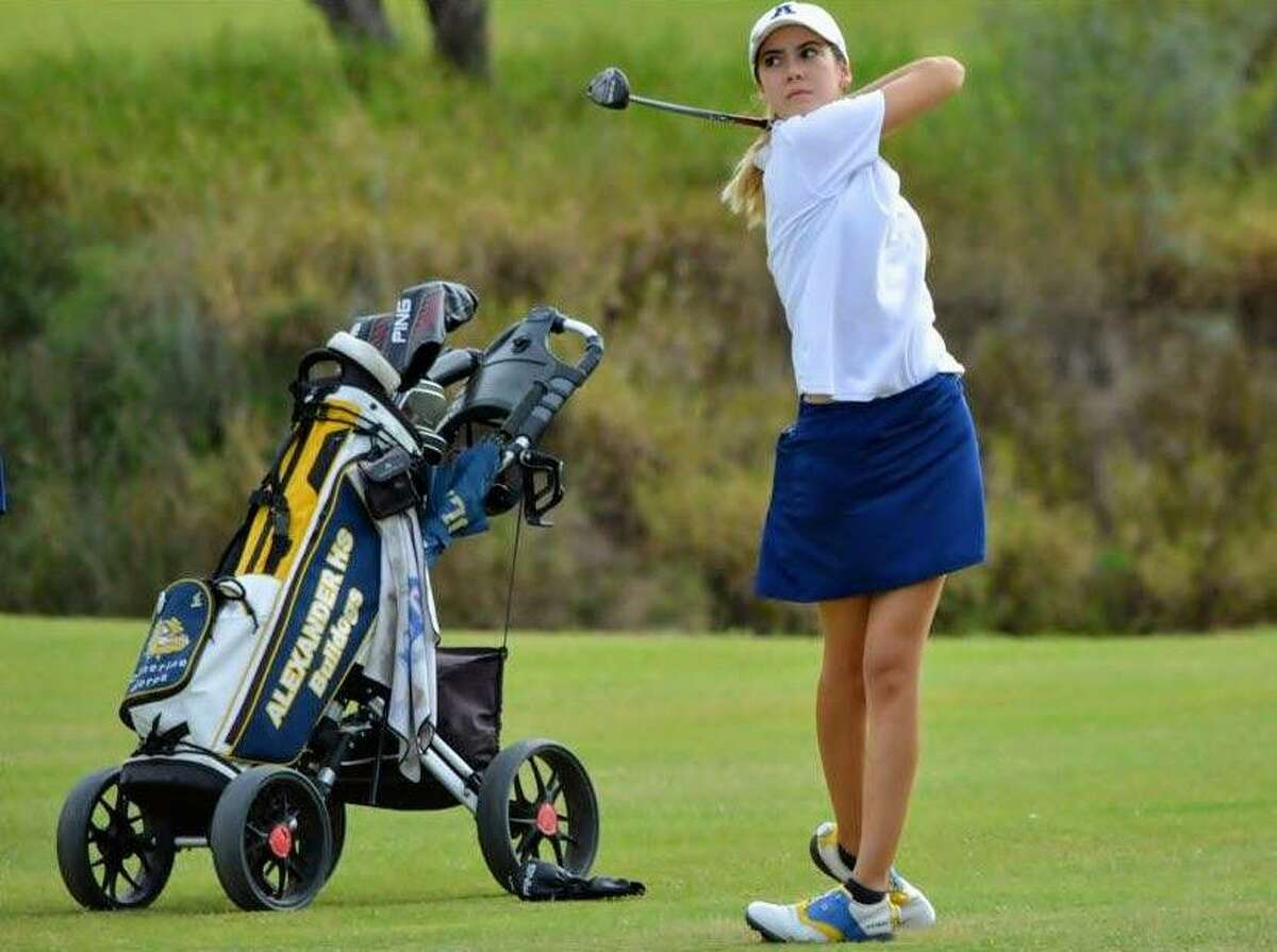Catherine Flores was Alexander's top finisher tying for 30th with a total of 160 (79-81) Tuesday in the Region IV Championships at the Palm View Golf Course in McAllen.