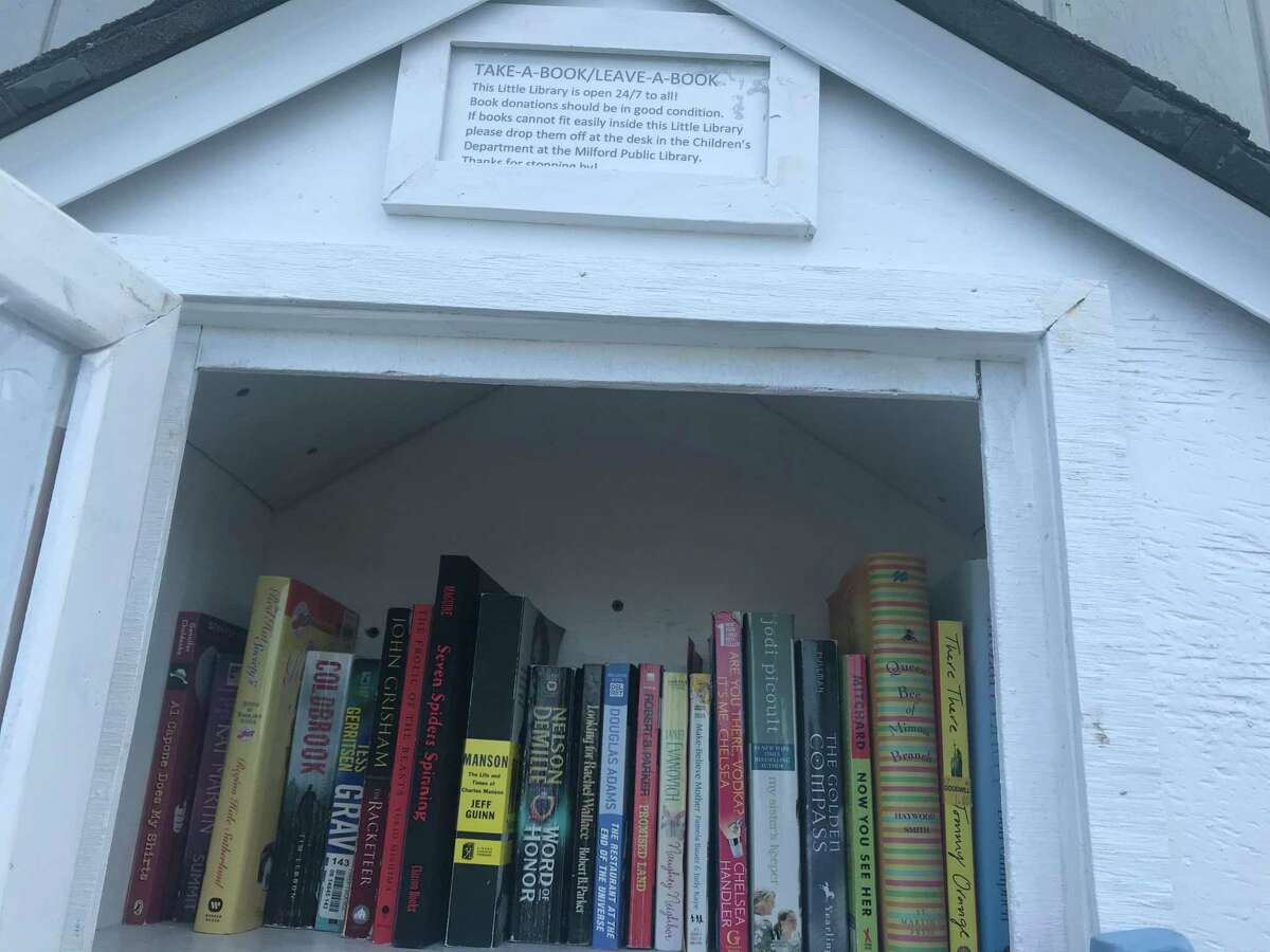 The Gulf Beach Little Library is open for those looking for a summer read.