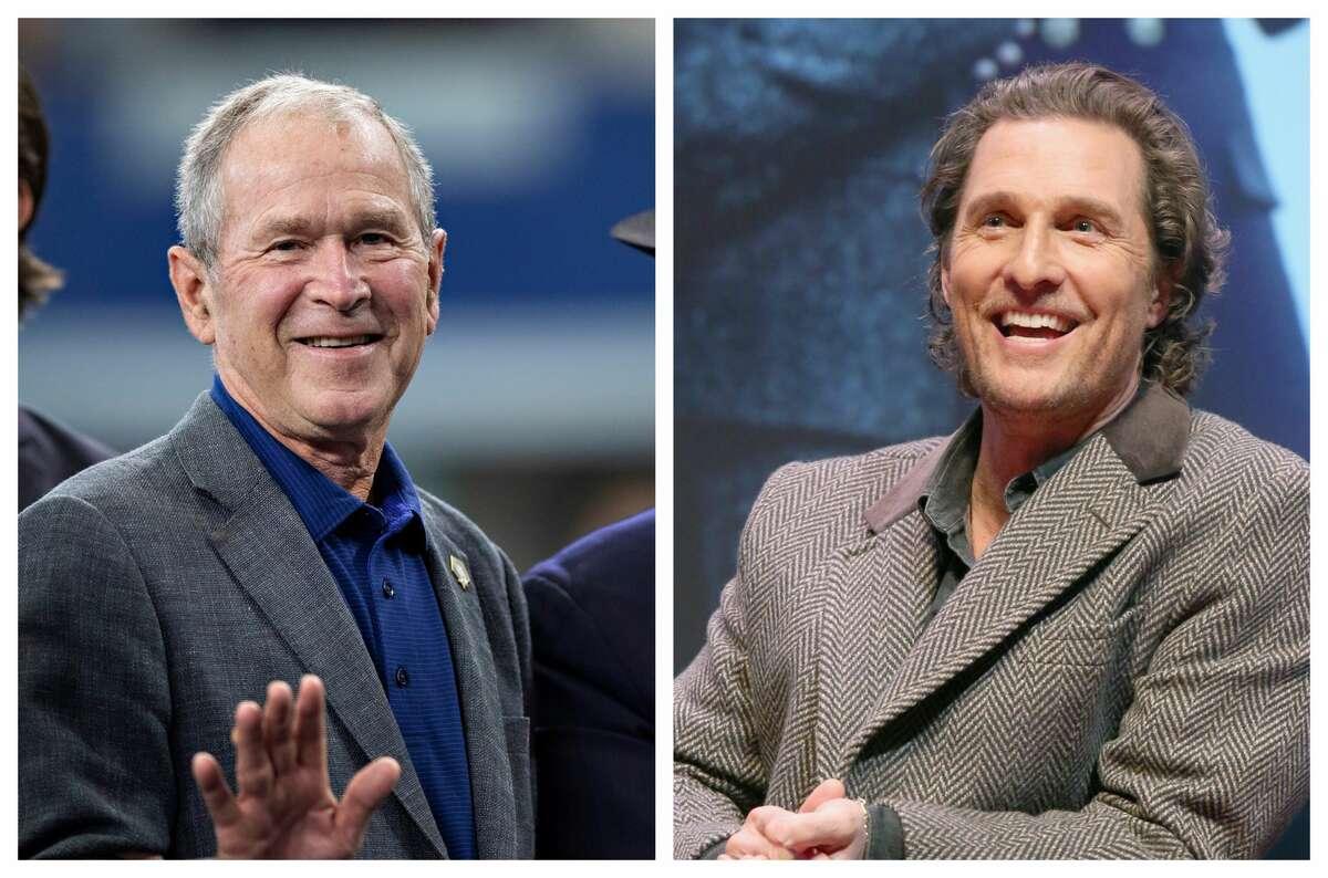Former President George W. Bush had some advice for Matthew McConaughey.