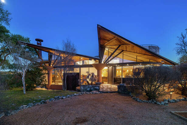 This breathtaking retreat is found just 26 miles outside of Austin.