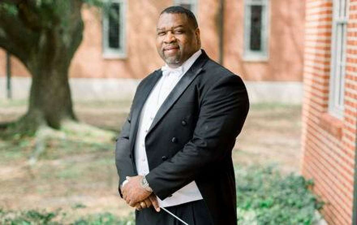 The Woodlands Symphony Orchestra welcomes to the podium guest conductor Clarence Frank on May 2 at the Pavilion.