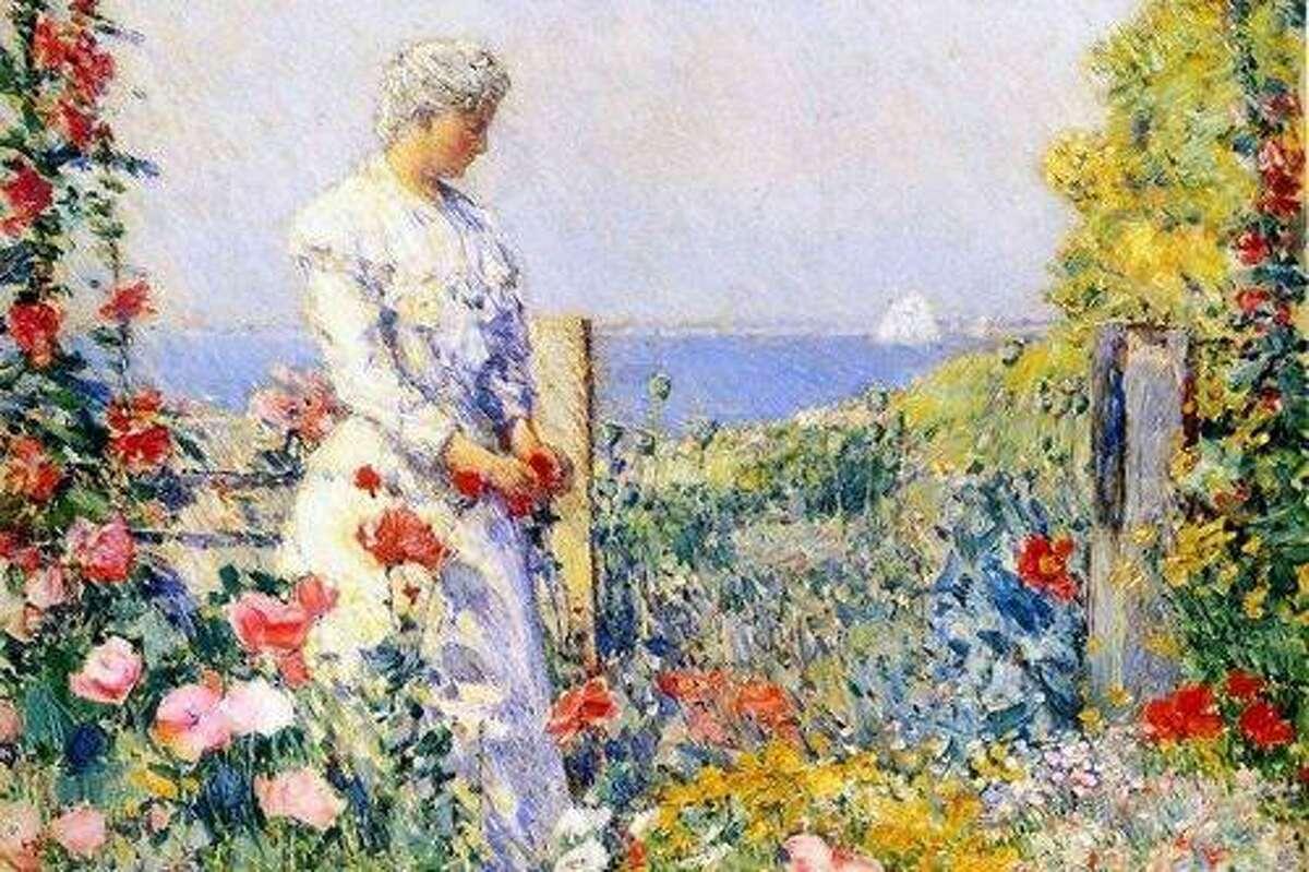 An artist's garden.