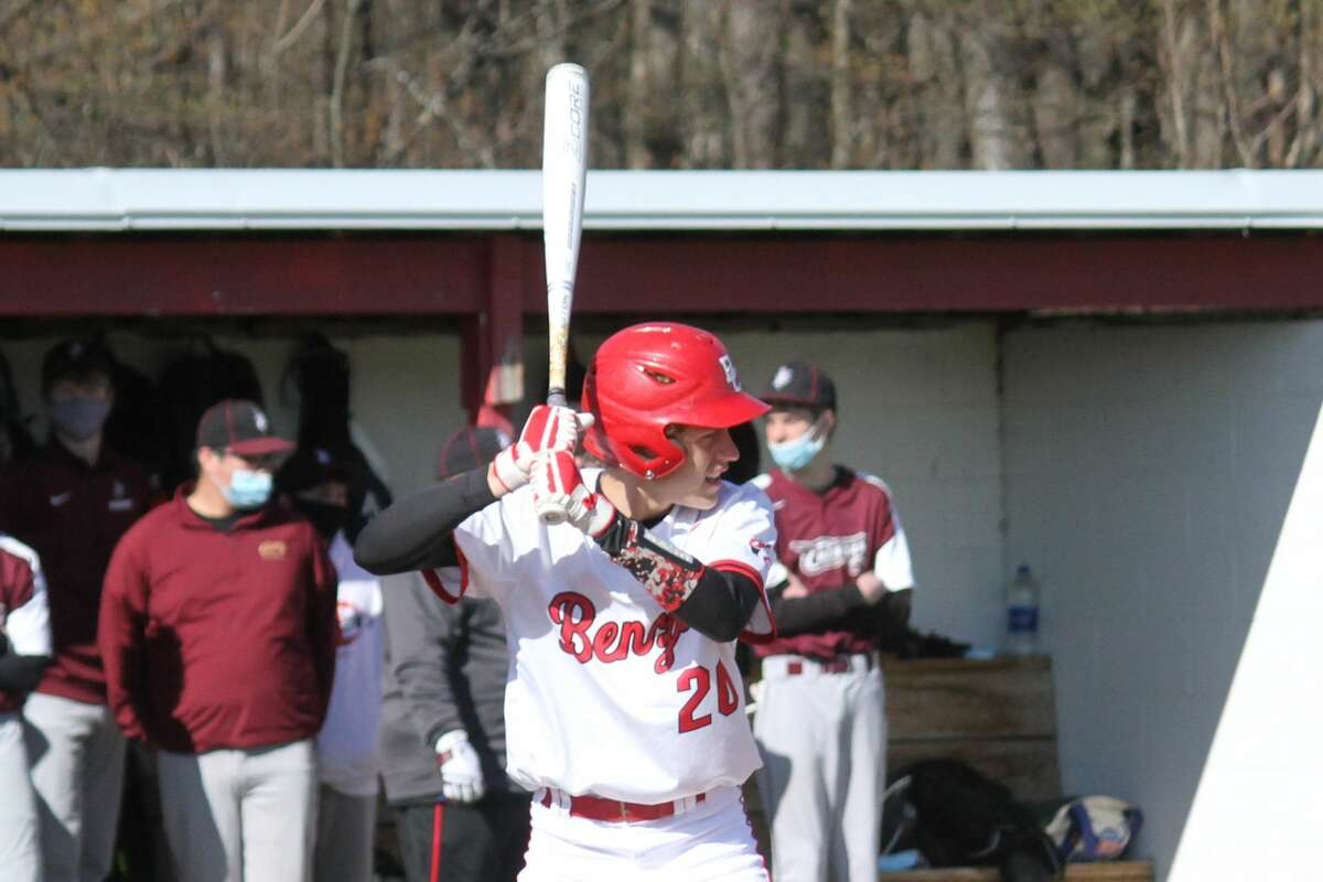 Benzie Central sweeps Traverse City Christian on April 20.