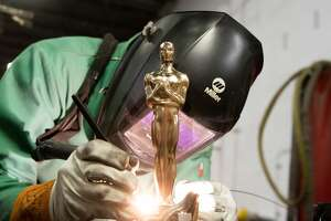 The Oscar statuettes for the Academy Awards are made right here in the Hudson Valley.