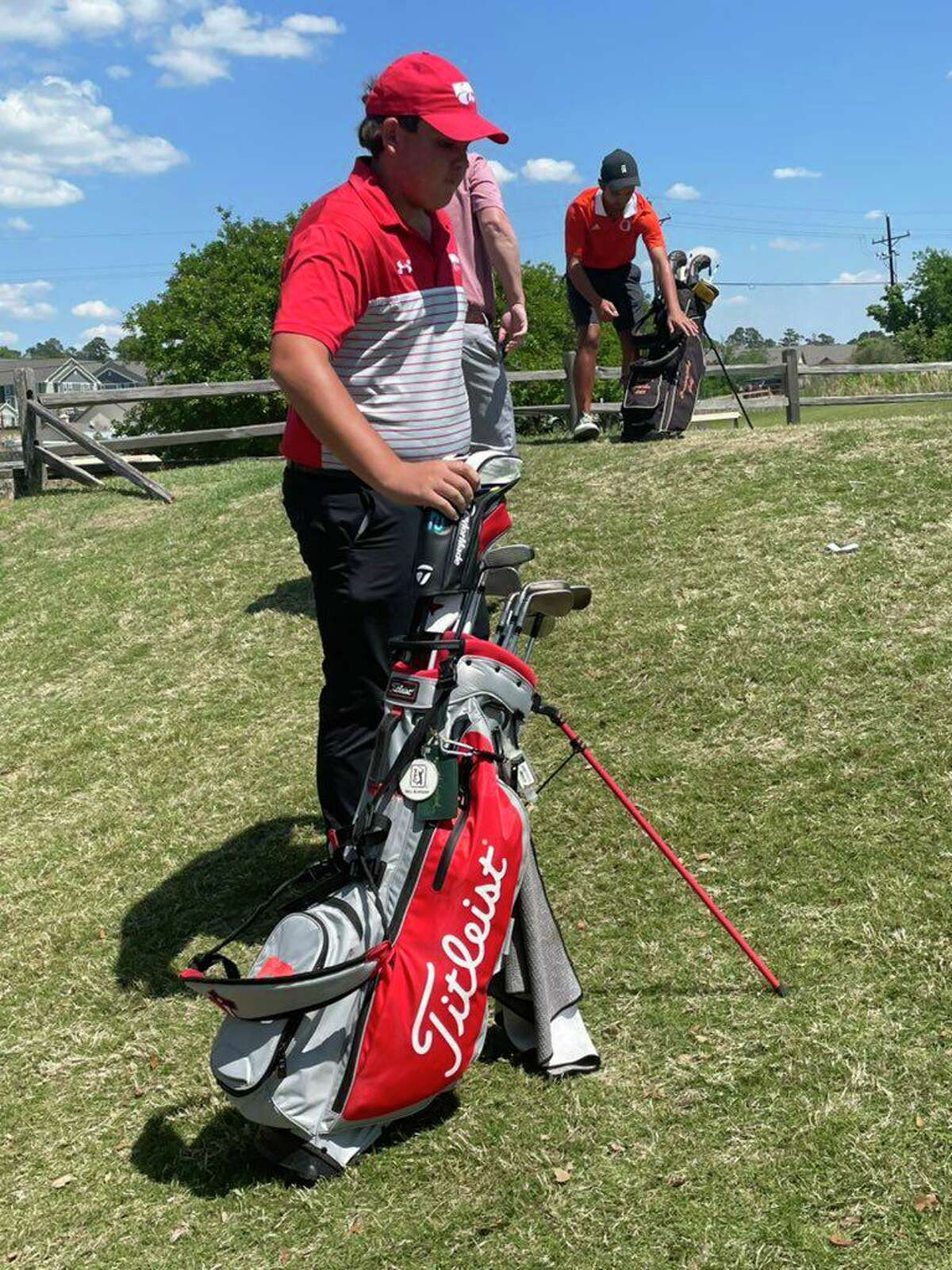 Splendora golfer Sammy Weldon.