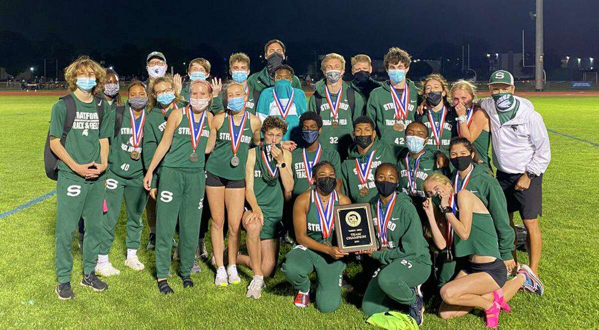 The Stratford track and field team will send 16 individual athletes and five relay teams to the Region III-6A championships after a successful home area meet. The Spartans won the girls team title and were second in the boys standings.