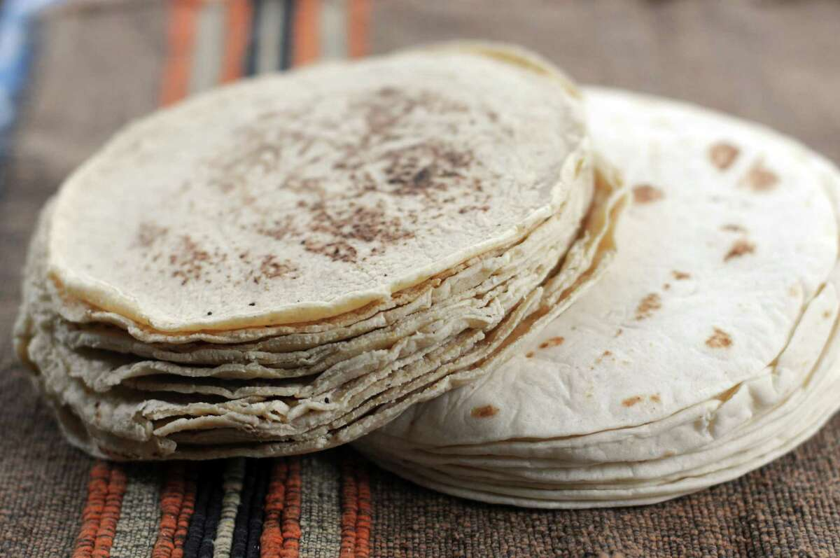 A selection of tortillas from Los Hermanos Tortillería located at 303 Commercial Ave.