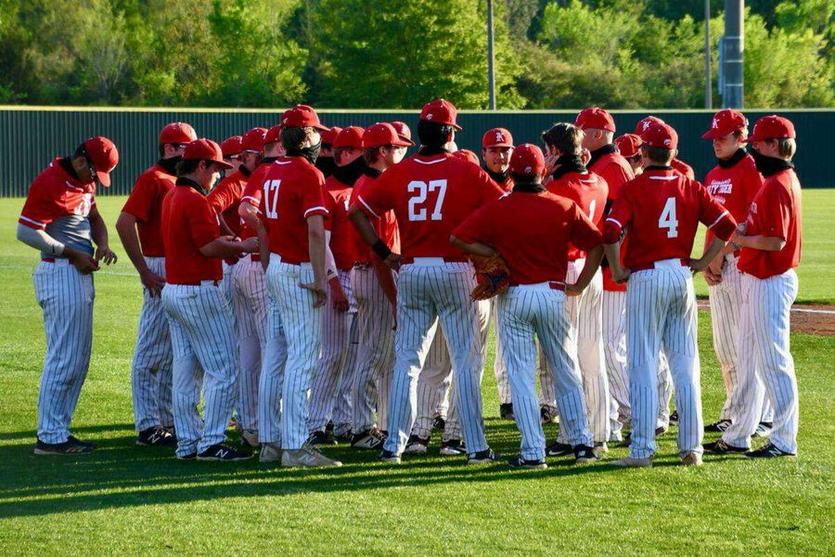 The Katy baseball team entered the week ranked No. 3 in Class 6A by the Texas High School Baseball Coaches Association and clinched the District 19-6A championship with a victory April 20.
