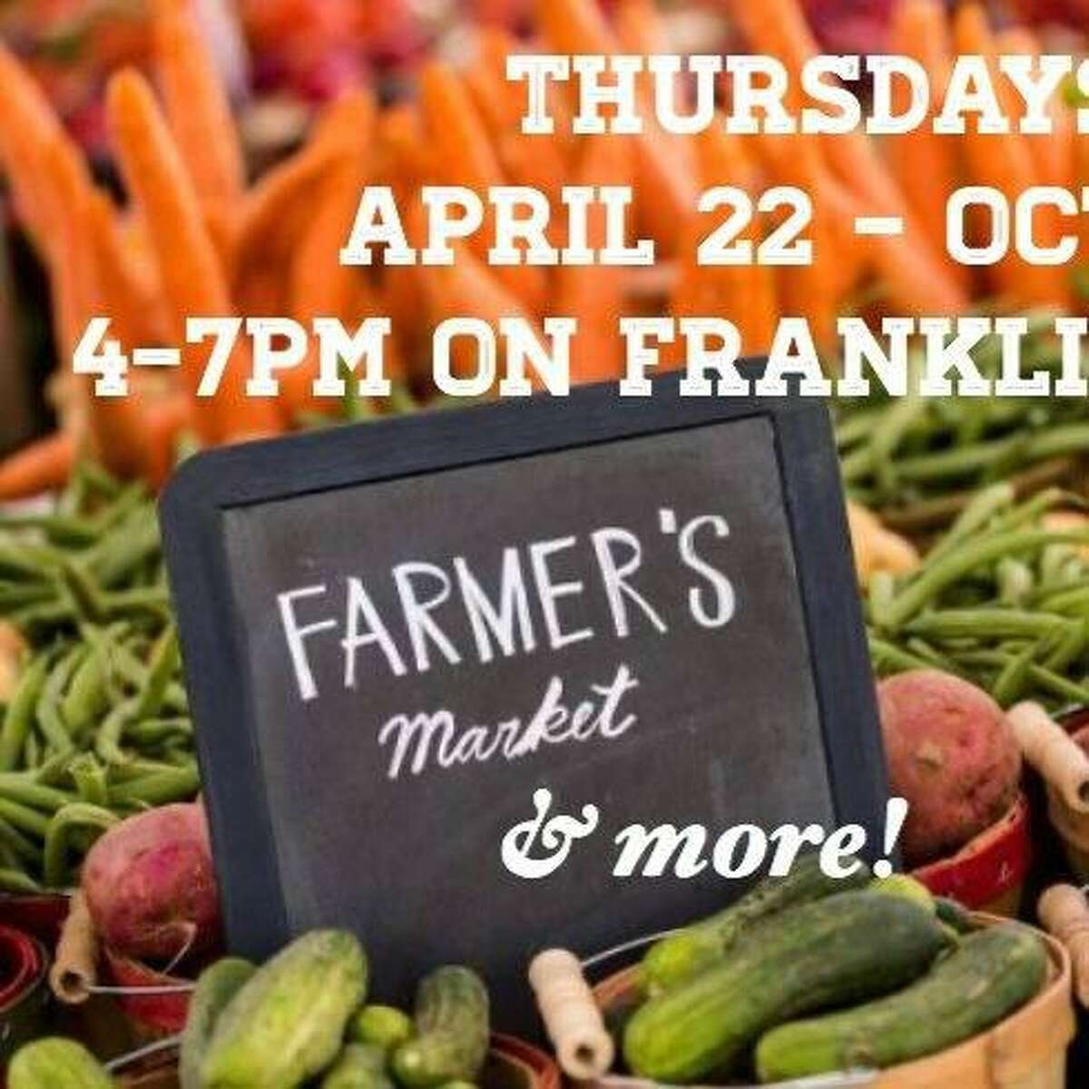 The Franklin Plaza Farmers Market opens Thursday from 4-7 p.m. in Torrington.