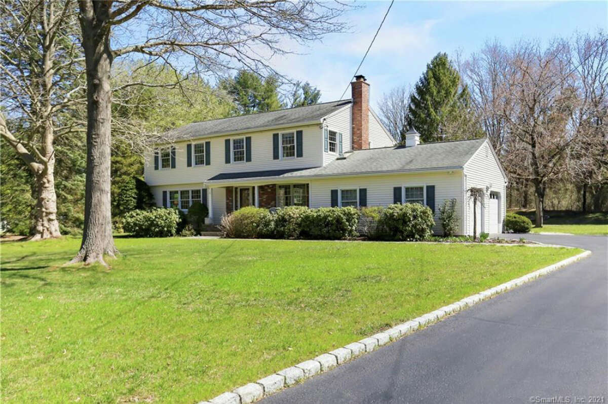 """43 Bonnie Brook Road in Westport, listed at $1,349,000 by Danna Rogers. She said she expects to have multiple bids for what she described as """"a great house for young families."""""""