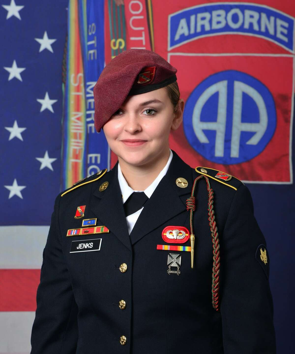 Spc. Abigail Jenks, 21, a Saratoga Springs High School graduate, was a member of the 82nd Airborne Division. She died during a static-line jump at Fort Bragg, N.C. Monday, April 19, 2021.