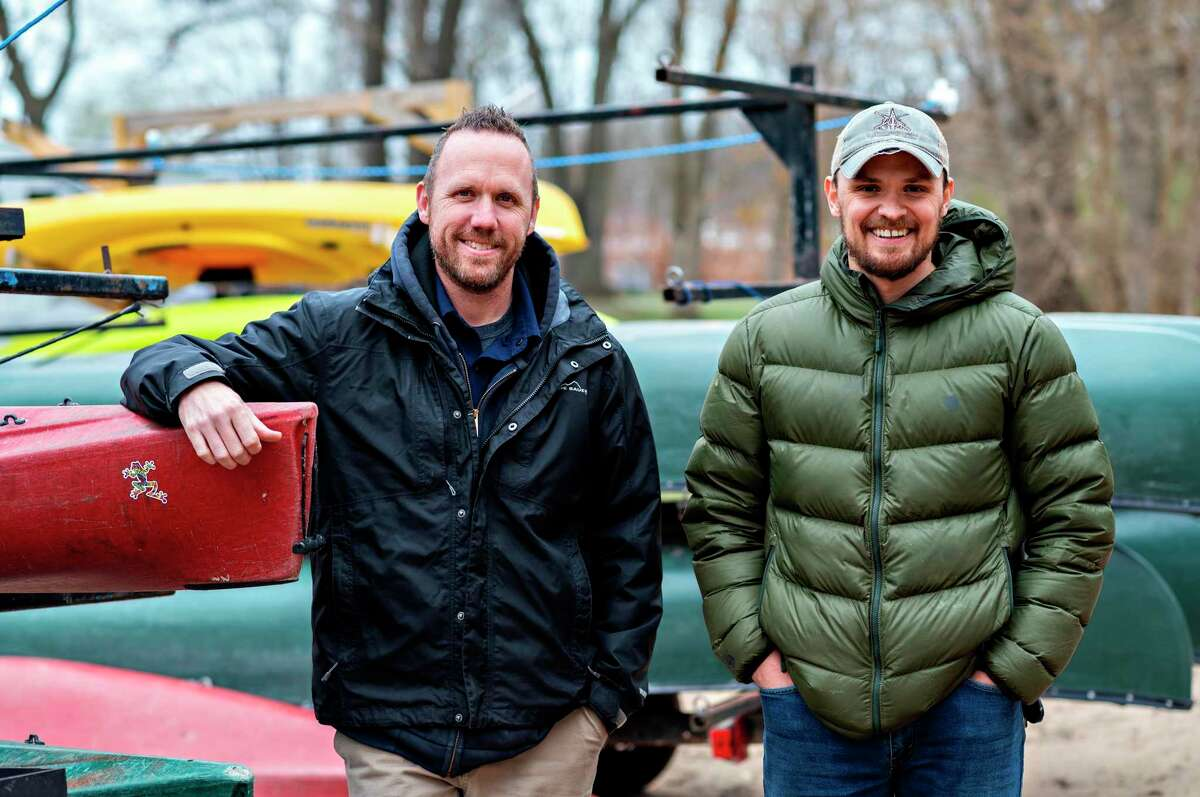 Dan Reynolds (left) and Andy Anderson are the owners of Manistee Adventures. (Courtesy photo)