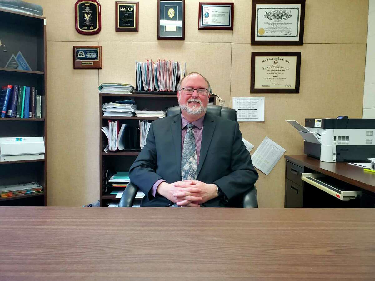 Huron County Chief Assistant Prosecutor David Wallace has been involved in sobriety court programs since 2008. (Scott Nunn/Huron Daily Tribune)