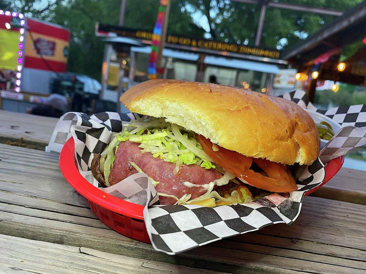 The Monky's torta incorporates steak, salami, chorizo and cheese and includes a side of fries at Monky's Tortas, a Mexican sandwich trailer that frequently can be found at The Point Park on the Northwest Side.