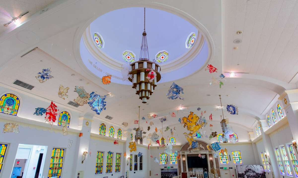 Sacred Dreams, an aerial work of art honoring the Jewish diaspora, was donated by Loundonville's Dr. Robert Feldman to the Jewish Museum of Florida, a building that was once the first Jewish synagogue in Miami Beach.