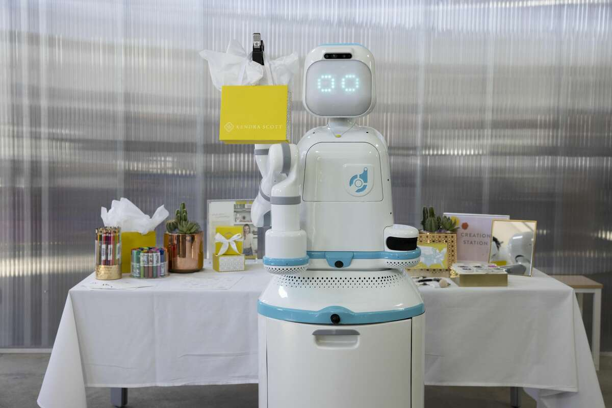 """Texas jewelry brand Kendra Scott is launching a new initiative to bring smiles to the faces of pediatric cancer patients across the U.S., starting in San Antonio, with the help of an AI-powered robot named """"Moxie."""""""