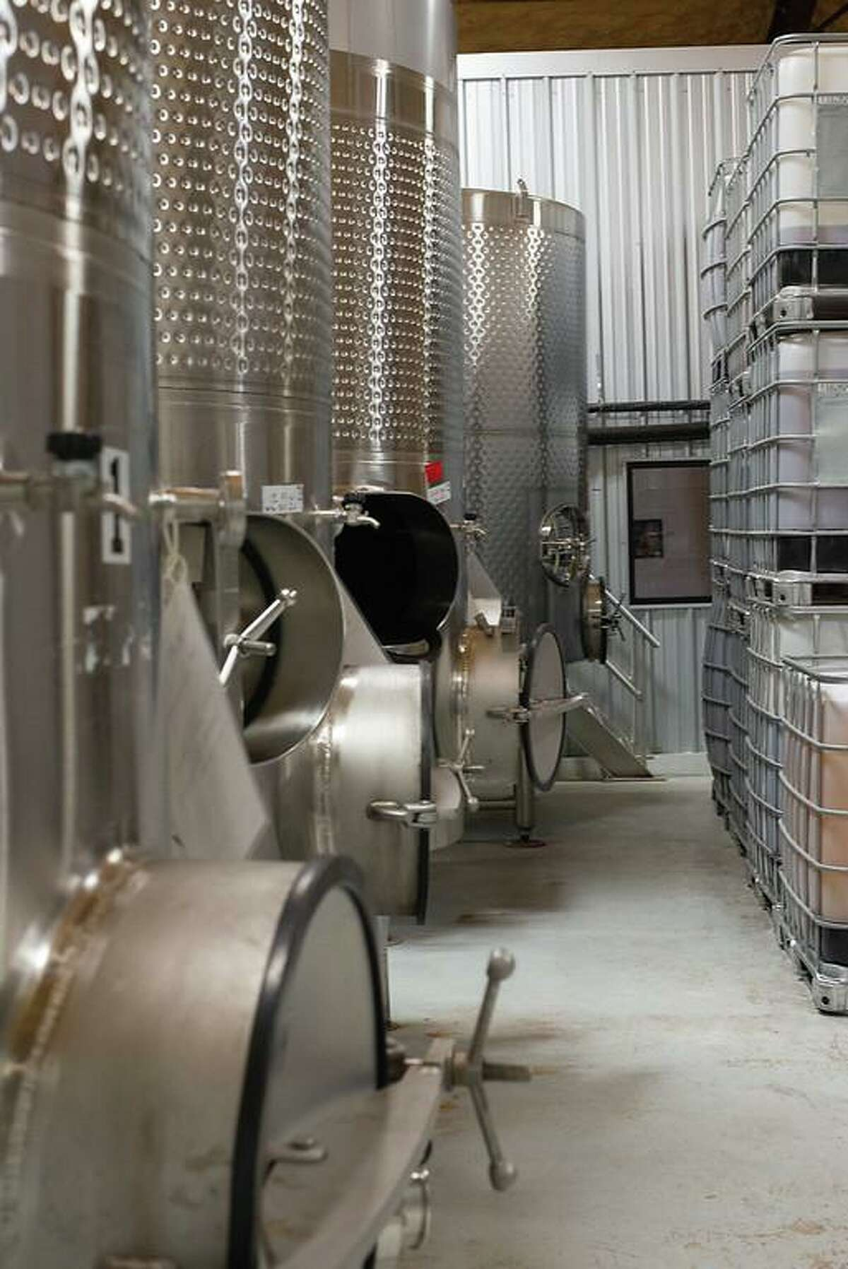 Kerrville Hills Winery on Texas 16 between Kerrville and Fredericksburg has 30,000 gallons of fermentation tank capacity to help other wineries in their production along with the special handcrafted Kerrville Hills Winery Wines.