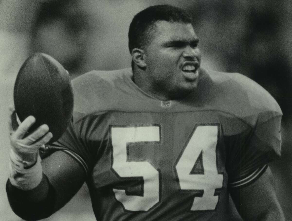 The Oilers found a longtime starting linebacker in Al Smith during the 1987 NFL draft.