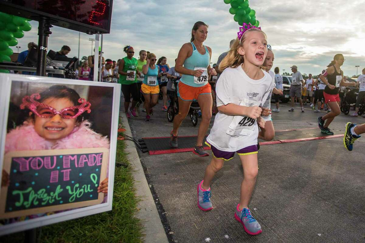 The Mothers Against Cancer's Virginia Gandy 5K Run and Walk at Kingwood High School.