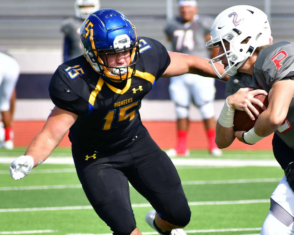 Wayland Baptist linebacker Casey Buck was named first team All-Sooner Athletic Conference.