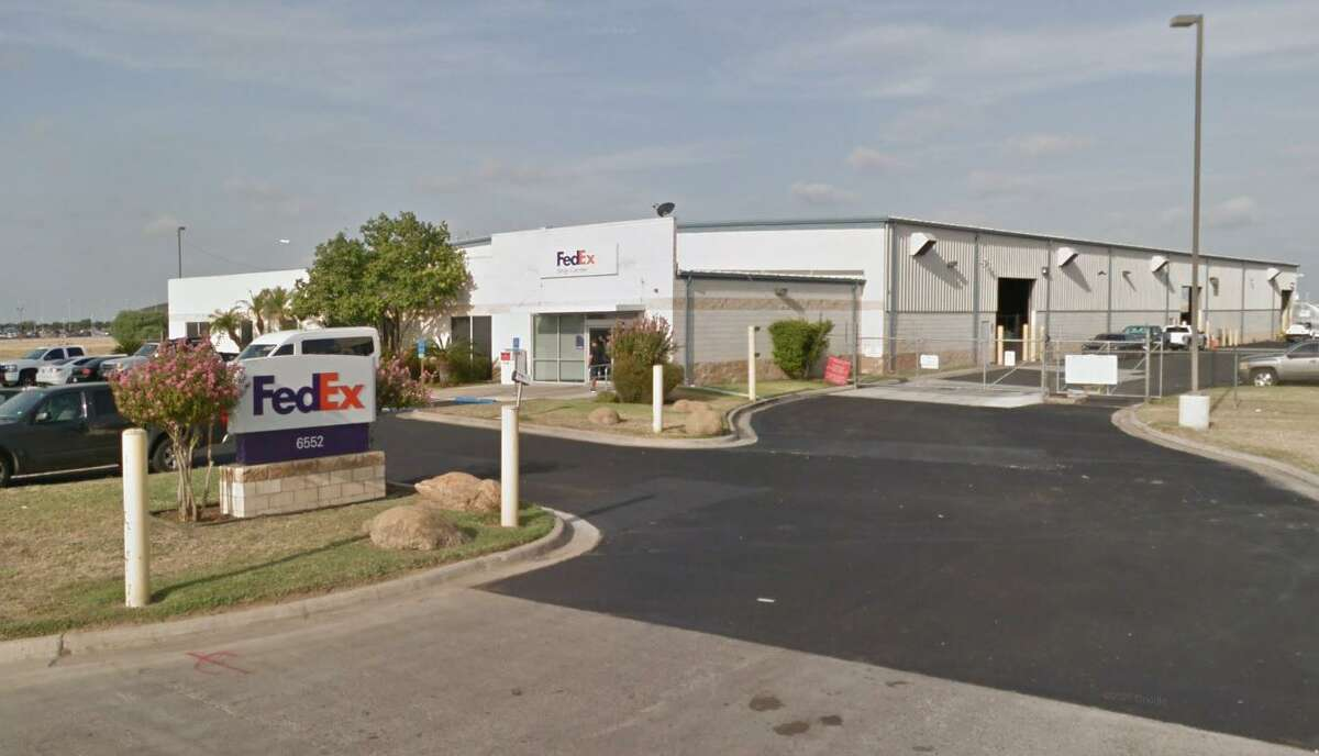 The FexEx facility at 6552 Bob Bullock Loop was the site of a shooting on Tuesday night.