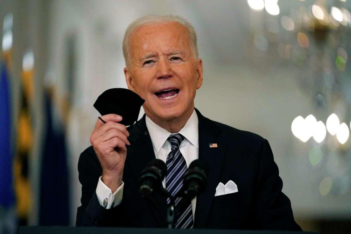 En esta foto de archivo del 11 de marzo de 20201, el presidente Joe Biden habla al país desde la Casa Blanca.